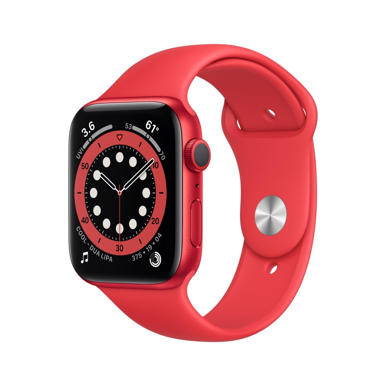 Apple Watch Series 6 40 mm OLED Rosso GPS (satellitare)