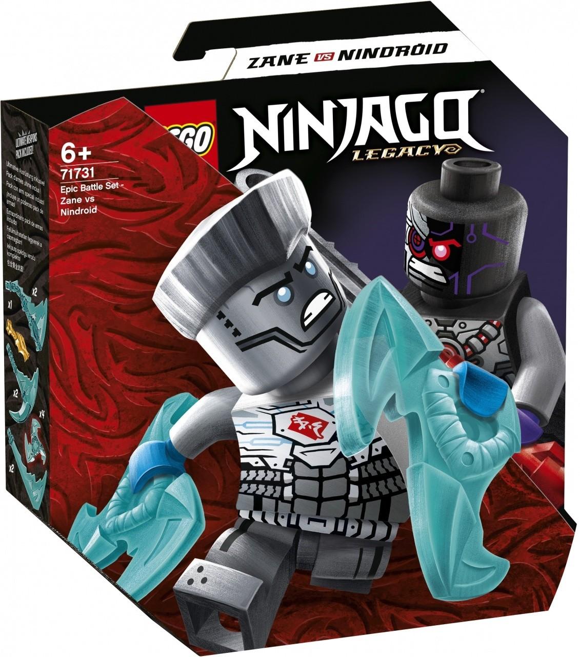 LEGO NINJAGO Battaglia epica - Zane vs Nindroid - 71731