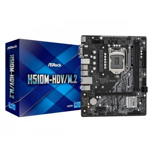 Asrock H510M-HDV/M.2 Intel H510 LGA...