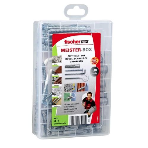 Fischer MEISTER-BOX UX 75 pz Kit di...