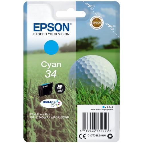 Epson Golf ball Singlepack Cyan 34...