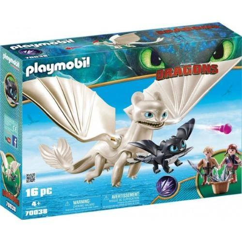 Playmobil Dragons Light Fury with...