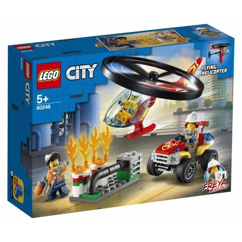 LEGO City Elicottero dei pompieri -...