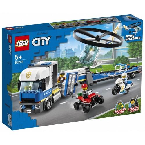 LEGO City Trasportatore di elicotteri...