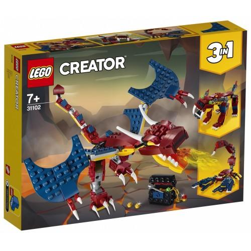 LEGO Creator Drago del fuoco - 31102