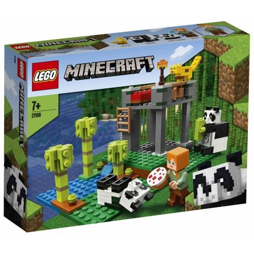 LEGO Minecraft L'allevamento di panda...