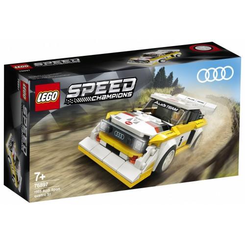 LEGO Speed Champions 1985 Audi Sport...