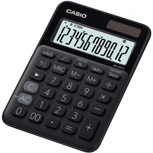 Casio MS-20UC-BK calcolatrice Desktop...
