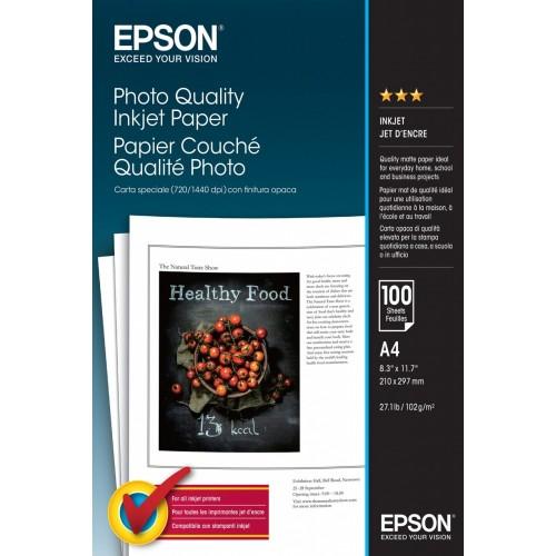 Epson Photo Quality Inkjet Paper - A4...