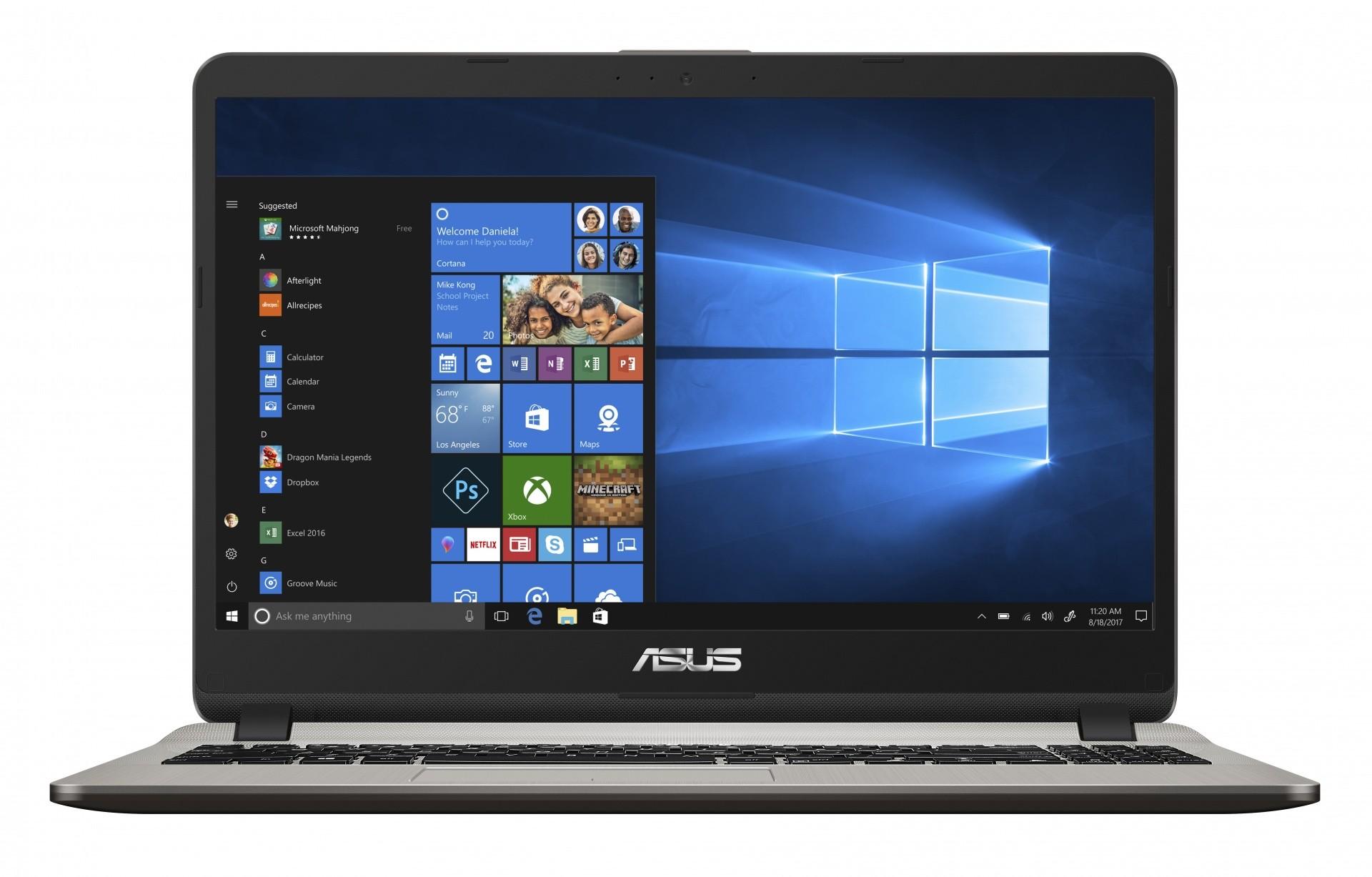 ASUS F507MA-BR009T Oro Computer portatile 39,6 cm (15.6