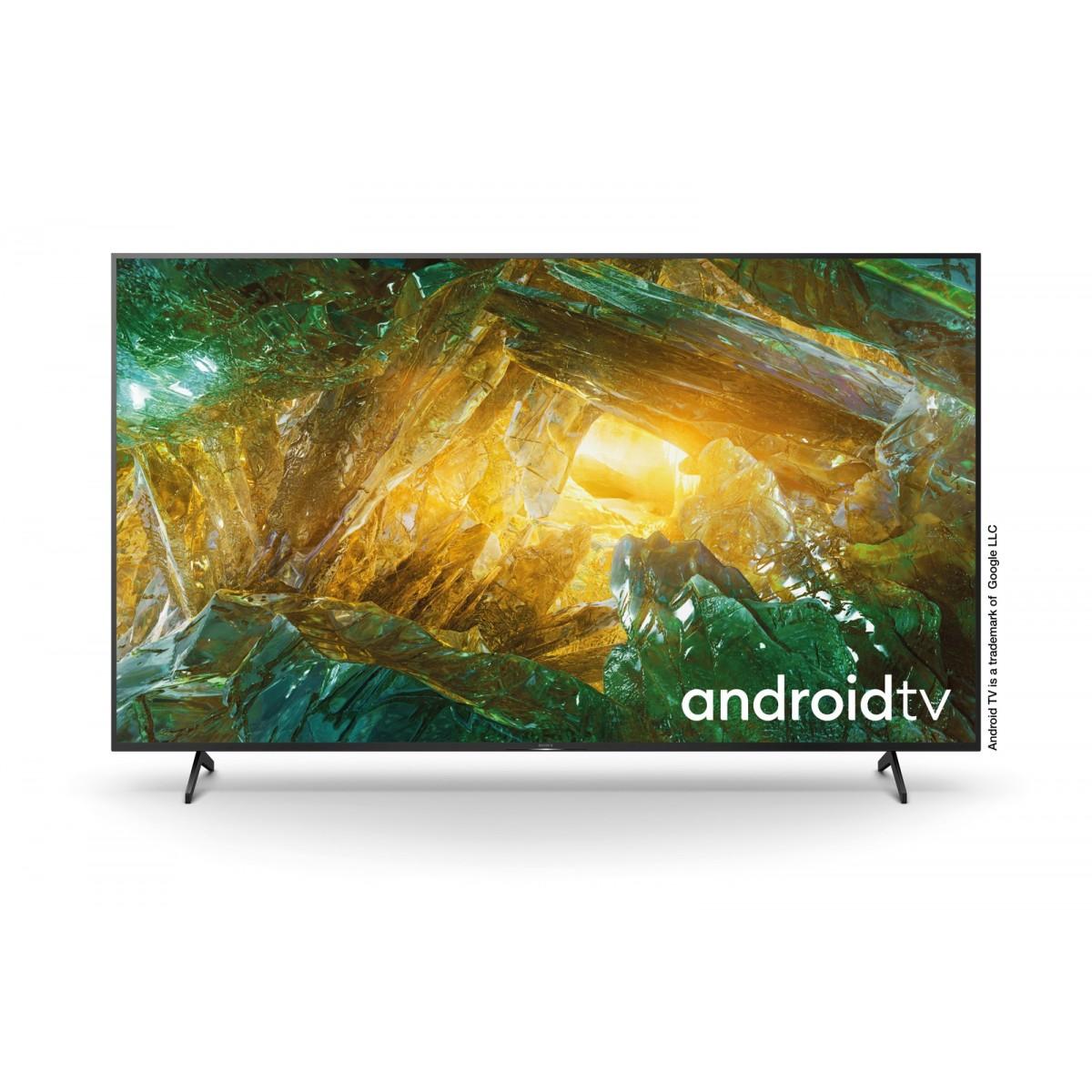 Sony KD 85XH80 | Android TV 85 pollici, Smart TV LED 4K HDR Ultra HD, con Assistenti Vocali integrati (Nero, Modello 2020)