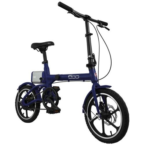 FIAT Fold Bicicletta Elettrica E-Bike F500 Blue