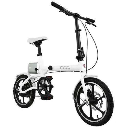 Bicicletta Elettrica E-Bike F500 FIAT Fold White