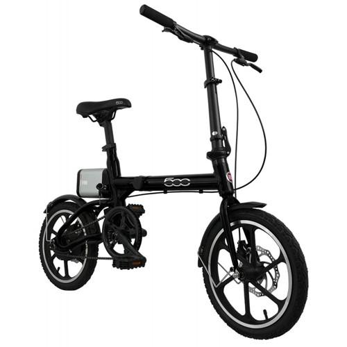 FIAT Fold Bicicletta Elettrica E-Bike F500 Black
