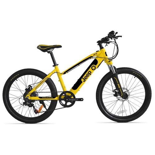 JEEP Teen Bicicletta Elettrica E-Bike M24E giallo