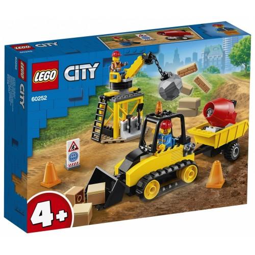 Lego City 60252 - Bulldozer da Cantiere