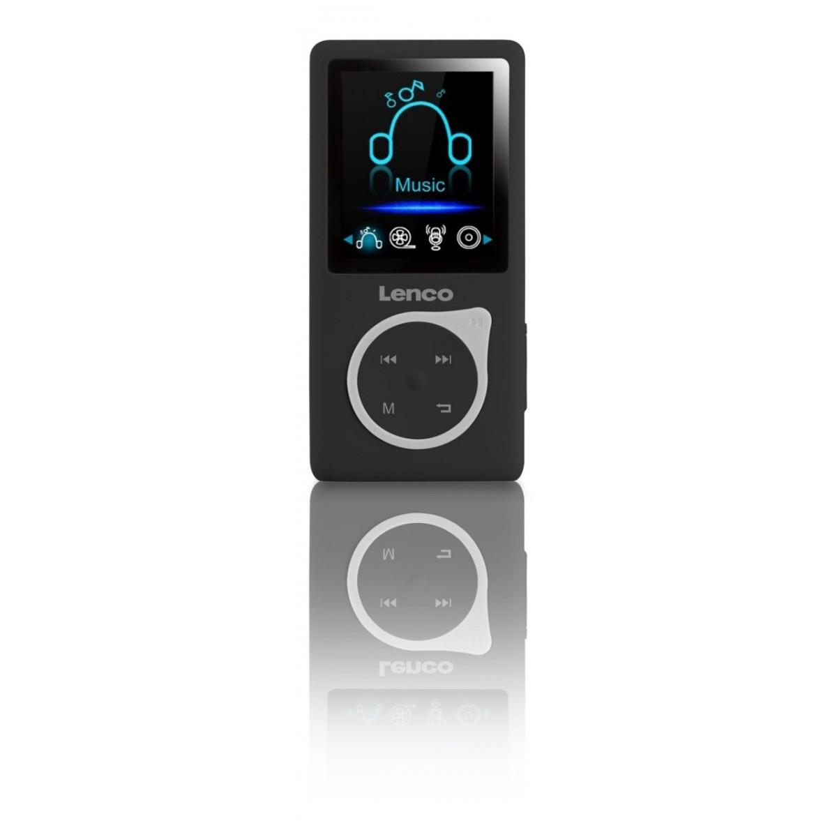 Lenco XEMIO-768 PINK lettore e registratore MP3//MP4 Lettore MP3 Nero Rosa 8 GB
