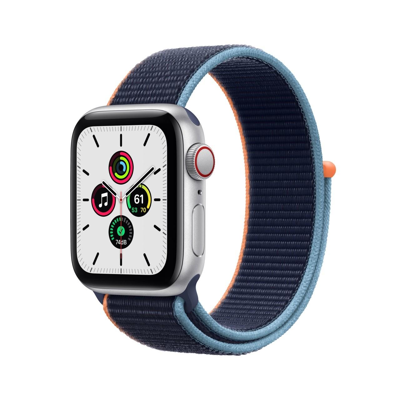 Apple Watch SE 4G GPS Argento