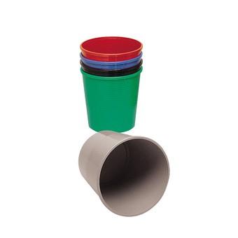 Image of Methodo X851405 cestino per rifiuti Rotondo Blu Polipropilene (PP)