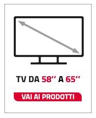 tv da 58 a 65 pollici